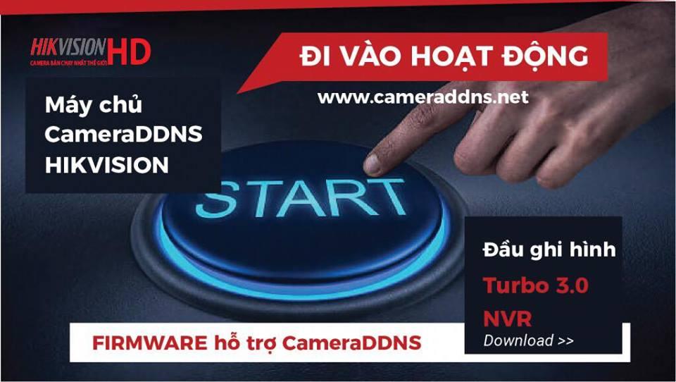 Máy chủ CAMERADDNS của Hikvision sẽ hoạt động từ tháng 10!