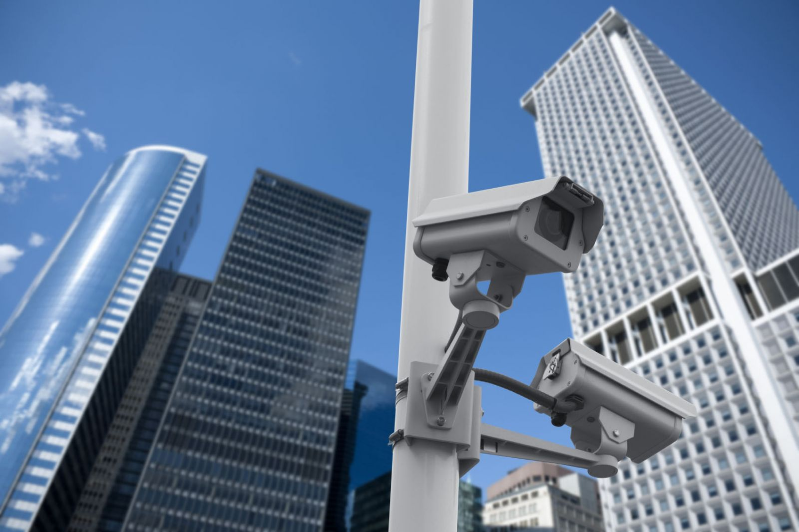Camera giám sát an ninh tại sân vận động quốc gia
